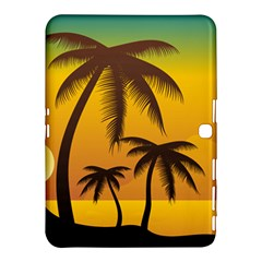 Sunset Summer Samsung Galaxy Tab 4 (10 1 ) Hardshell Case