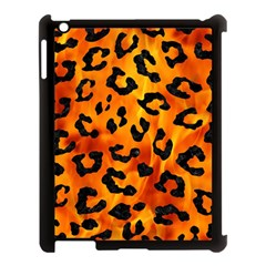 Skin5 Black Marble & Fire Apple Ipad 3/4 Case (black)