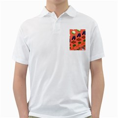 Vegetable Carrot Tomato Pumpkin Eggplant Golf Shirts