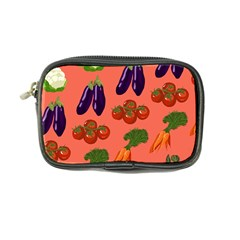 Vegetable Carrot Tomato Pumpkin Eggplant Coin Purse