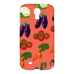 Vegetable Carrot Tomato Pumpkin Eggplant Samsung Galaxy S4 I9500/i9505 Hardshell Case