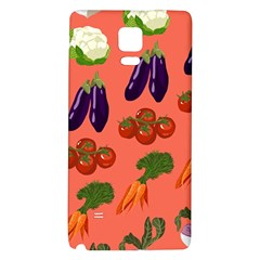 Vegetable Carrot Tomato Pumpkin Eggplant Galaxy Note 4 Back Case