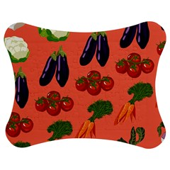 Vegetable Carrot Tomato Pumpkin Eggplant Jigsaw Puzzle Photo Stand (bow)