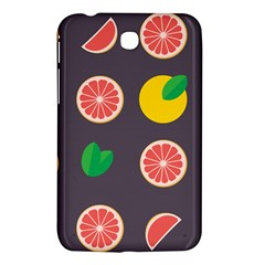 Wild Textures Grapefruits Pattern Lime Orange Samsung Galaxy Tab 3 (7 ) P3200 Hardshell Case