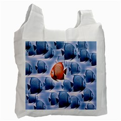Swim Fish Recycle Bag (one Side)