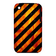 Stripes3 Black Marble & Fire Iphone 3s/3gs