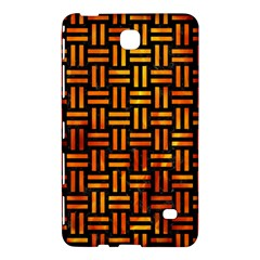 Woven1 Black Marble & Fire Samsung Galaxy Tab 4 (8 ) Hardshell Case