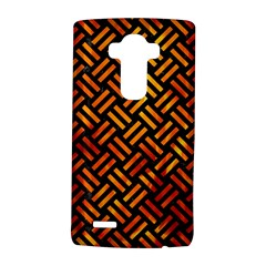 Woven2 Black Marble & Fire Lg G4 Hardshell Case