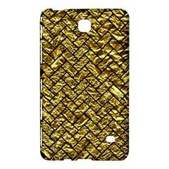 Brick2 Black Marble & Gold Foil (r) Samsung Galaxy Tab 4 (7 ) Hardshell Case