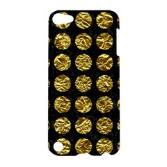 Circles1 Black Marble & Gold Foil Apple Ipod Touch 5 Hardshell Case