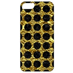 Circles1 Black Marble & Gold Foil (r) Apple Iphone 5 Classic Hardshell Case