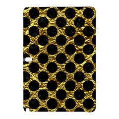 Circles2 Black Marble & Gold Foil (r) Samsung Galaxy Tab Pro 10 1 Hardshell Case