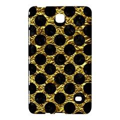 Circles2 Black Marble & Gold Foil (r) Samsung Galaxy Tab 4 (7 ) Hardshell Case