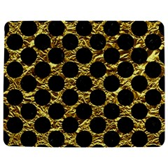 Circles2 Black Marble & Gold Foil (r) Jigsaw Puzzle Photo Stand (rectangular)
