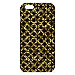 Circles3 Black Marble & Gold Foil Iphone 6 Plus/6s Plus Tpu Case