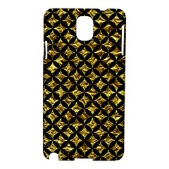 Circles3 Black Marble & Gold Foil (r) Samsung Galaxy Note 3 N9005 Hardshell Case
