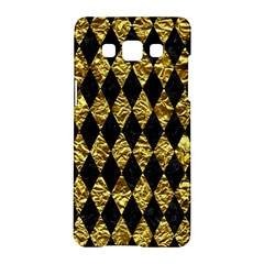 Diamond1 Black Marble & Gold Foil Samsung Galaxy A5 Hardshell Case