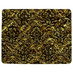 Damask1 Black Marble & Gold Foil (r) Jigsaw Puzzle Photo Stand (rectangular)