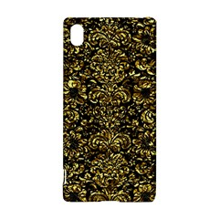 Damask2 Black Marble & Gold Foil Sony Xperia Z3+