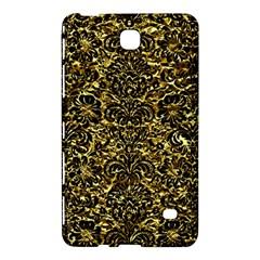 Damask2 Black Marble & Gold Foil (r) Samsung Galaxy Tab 4 (7 ) Hardshell Case