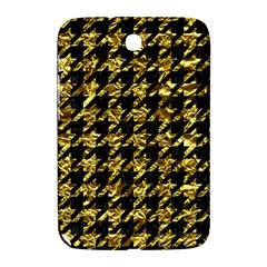 Houndstooth1 Black Marble & Gold Foil Samsung Galaxy Note 8 0 N5100 Hardshell Case