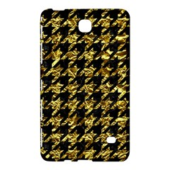 Houndstooth1 Black Marble & Gold Foil Samsung Galaxy Tab 4 (8 ) Hardshell Case