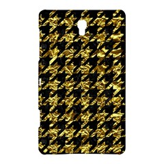 Houndstooth1 Black Marble & Gold Foil Samsung Galaxy Tab S (8 4 ) Hardshell Case