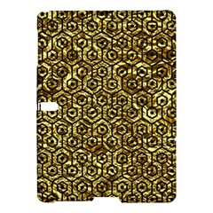 Hexagon1 Black Marble & Gold Foil (r) Samsung Galaxy Tab S (10 5 ) Hardshell Case