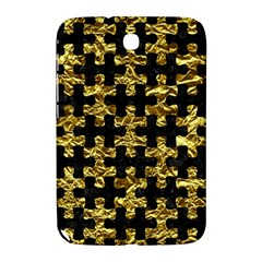 Puzzle1 Black Marble & Gold Foil Samsung Galaxy Note 8 0 N5100 Hardshell Case
