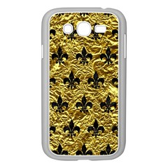 Royal1 Black Marble & Gold Foil Samsung Galaxy Grand Duos I9082 Case (white)
