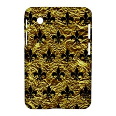 Royal1 Black Marble & Gold Foil Samsung Galaxy Tab 2 (7 ) P3100 Hardshell Case
