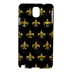 Royal1 Black Marble & Gold Foil (r) Samsung Galaxy Note 3 N9005 Hardshell Case