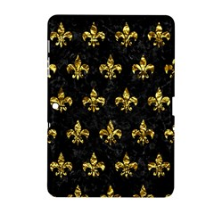 Royal1 Black Marble & Gold Foil (r) Samsung Galaxy Tab 2 (10 1 ) P5100 Hardshell Case