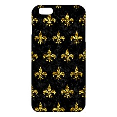 Royal1 Black Marble & Gold Foil (r) Iphone 6 Plus/6s Plus Tpu Case