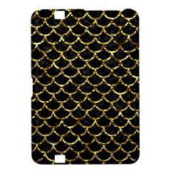 Scales1 Black Marble & Gold Foil Kindle Fire Hd 8 9