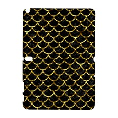 Scales1 Black Marble & Gold Foil Galaxy Note 1