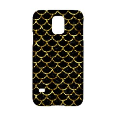 Scales1 Black Marble & Gold Foil Samsung Galaxy S5 Hardshell Case