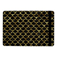 Scales1 Black Marble & Gold Foil Samsung Galaxy Tab Pro 10 1  Flip Case