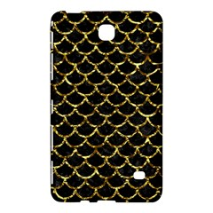 Scales1 Black Marble & Gold Foil Samsung Galaxy Tab 4 (8 ) Hardshell Case