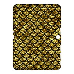Scales1 Black Marble & Gold Foil (r) Samsung Galaxy Tab 4 (10 1 ) Hardshell Case