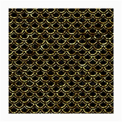 Scales2 Black Marble & Gold Foil Medium Glasses Cloth (2 Side)