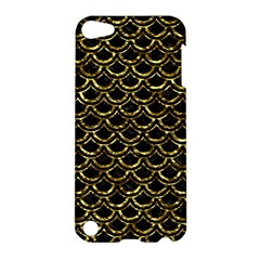 Scales2 Black Marble & Gold Foil Apple Ipod Touch 5 Hardshell Case