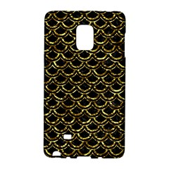 Scales2 Black Marble & Gold Foil Galaxy Note Edge