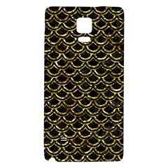 Scales2 Black Marble & Gold Foil Galaxy Note 4 Back Case