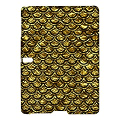 Scales2 Black Marble & Gold Foil (r) Samsung Galaxy Tab S (10 5 ) Hardshell Case