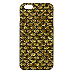 Scales3 Black Marble & Gold Foil (r) Iphone 6 Plus/6s Plus Tpu Case