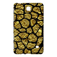Skin1 Black Marble & Gold Foil Samsung Galaxy Tab 4 (7 ) Hardshell Case