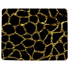 Skin1 Black Marble & Gold Foil (r) Jigsaw Puzzle Photo Stand (rectangular)
