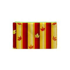 Autumn Background Cosmetic Bag (xs)