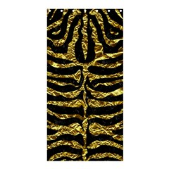 Skin2 Black Marble & Gold Foil Shower Curtain 36  X 72  (stall)